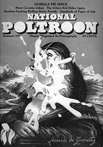 National Poltroon cover.