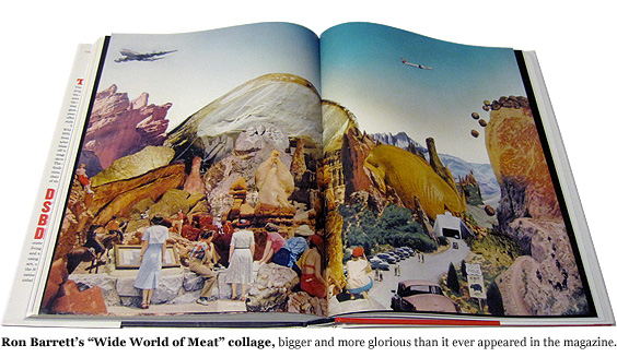 Ron Barrett's 'Wide World of Meat' collage.