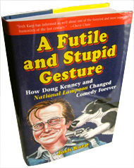 Cover of the new Doug Kenney biography