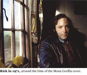Rick Meyerowitz in 1971, around the time of the Mona Gorilla cover.